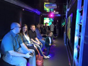 Climate controlled video game truck in Houston, Pasadena, Sugar Land TX